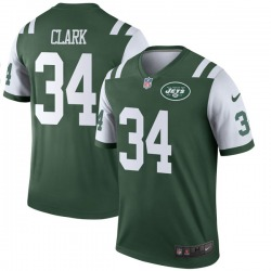 Legend Men's Jeremy Clark New York Jets Nike Jersey - Green