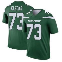 Legend Men's Joe Klecko New York Jets Nike Player Jersey - Gotham Green
