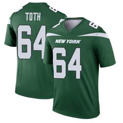 Legend Men's Jon Toth New York Jets Nike Player Jersey - Gotham Green