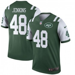 Legend Men's Jordan Jenkins New York Jets Nike Jersey - Green