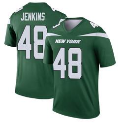 Legend Men's Jordan Jenkins New York Jets Nike Player Jersey - Gotham Green