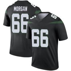 Legend Men's Jordan Morgan New York Jets Nike Color Rush Jersey - Stealth Black