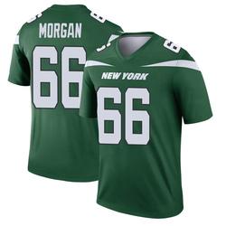 Legend Men's Jordan Morgan New York Jets Nike Player Jersey - Gotham Green