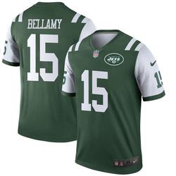 Legend Men's Joshua Bellamy New York Jets Nike Jersey - Green