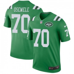 Legend Men's Kelechi Osemele New York Jets Nike Color Rush Jersey - Green