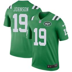 Legend Men's Keyshawn Johnson New York Jets Nike Color Rush Jersey - Green