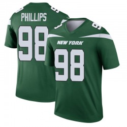 Legend Men's Kyle Phillips New York Jets Nike Player Jersey - Gotham Green