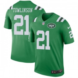 Legend Men's LaDainian Tomlinson New York Jets Nike Color Rush Jersey - Green