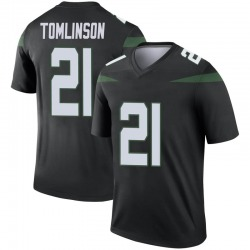Legend Men's LaDainian Tomlinson New York Jets Nike Color Rush Jersey - Stealth Black