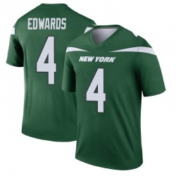 Legend Men's Lachlan Edwards New York Jets Nike Player Jersey - Gotham Green