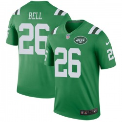 Legend Men's Le'Veon Bell New York Jets Nike Color Rush Jersey - Green