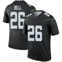 Legend Men's Le'Veon Bell New York Jets Nike Color Rush Jersey - Stealth Black