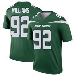 Legend Men's Leonard Williams New York Jets Nike Player Jersey - Gotham Green