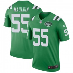 Legend Men's Lorenzo Mauldin New York Jets Nike Color Rush Jersey - Green