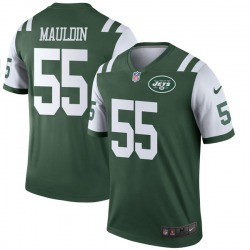 Legend Men's Lorenzo Mauldin New York Jets Nike Jersey - Green