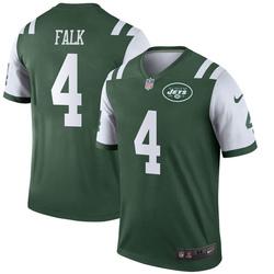 Legend Men's Luke Falk New York Jets Nike Jersey - Green