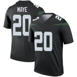 Legend Men's Marcus Maye New York Jets Nike Color Rush Jersey - Stealth Black