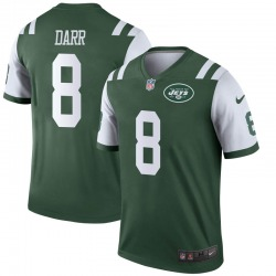 Legend Men's Matt Darr New York Jets Nike Jersey - Green