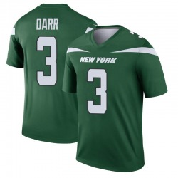 Legend Men's Matt Darr New York Jets Nike Player Jersey - Gotham Green