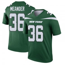 Legend Men's Montrel Meander New York Jets Nike Player Jersey - Gotham Green
