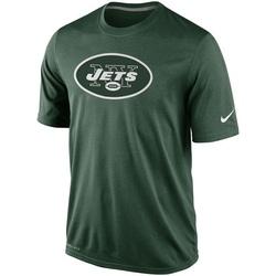 Legend Men's New York Jets Nike Logo Essential 2 Performance T-Shirt - - Green