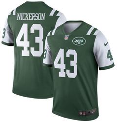 Legend Men's Parry Nickerson New York Jets Nike Jersey - Green