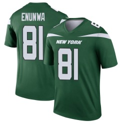 Legend Men's Quincy Enunwa New York Jets Nike Player Jersey - Gotham Green