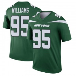 Legend Men's Quinnen Williams New York Jets Nike Player Jersey - Gotham Green
