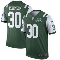 Legend Men's Rashard Robinson New York Jets Nike Jersey - Green