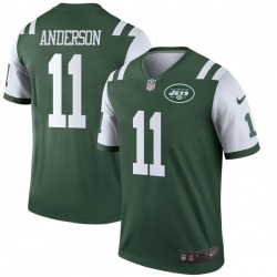 Legend Men's Robby Anderson New York Jets Nike Jersey - Green