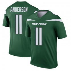 Legend Men's Robby Anderson New York Jets Nike Player Jersey - Gotham Green