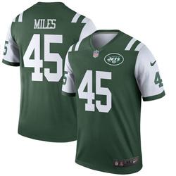 Legend Men's Rontez Miles New York Jets Nike Jersey - Green