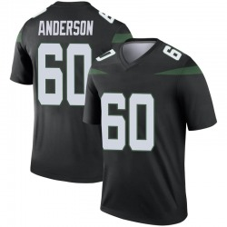 Legend Men's Ryan Anderson New York Jets Nike Color Rush Jersey - Stealth Black
