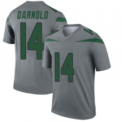 lowest price 3dd7f c0320 Legend Men's Sam Darnold New York Jets Nike Inverted Jersey - Gray