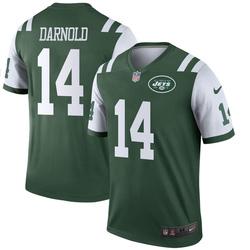 Legend Men's Sam Darnold New York Jets Nike Jersey - Green