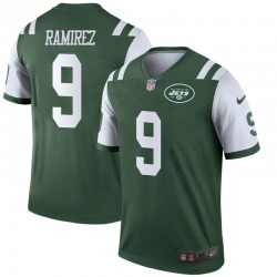 Legend Men's Santos Ramirez New York Jets Nike Jersey - Green
