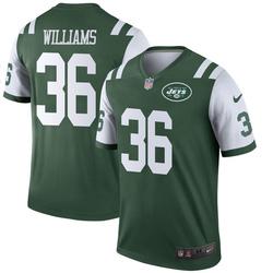 Legend Men's Terry Williams New York Jets Nike Jersey - Green