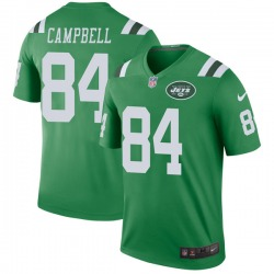 Legend Men's Tevaughn Campbell New York Jets Nike Color Rush Jersey - Green