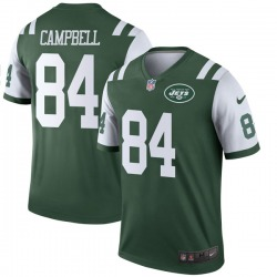 Legend Men's Tevaughn Campbell New York Jets Nike Jersey - Green