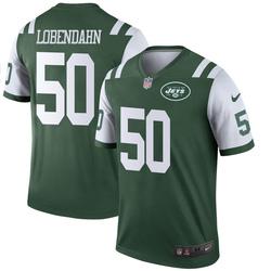 Legend Men's Toa Lobendahn New York Jets Nike Jersey - Green