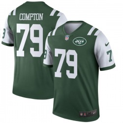 Legend Men's Tom Compton New York Jets Nike Jersey - Green