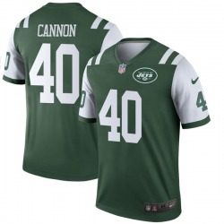 Legend Men's Trenton Cannon New York Jets Nike Jersey - Green