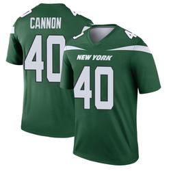 Legend Men's Trenton Cannon New York Jets Nike Player Jersey - Gotham Green