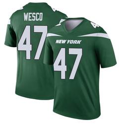Legend Men's Trevon Wesco New York Jets Nike Player Jersey - Gotham Green