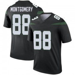 Legend Men's Ty Montgomery New York Jets Nike Color Rush Jersey - Stealth Black