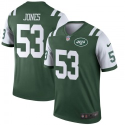 Legend Men's Tyler Jones New York Jets Nike Jersey - Green