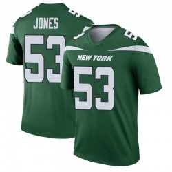 Legend Men's Tyler Jones New York Jets Nike Player Jersey - Gotham Green