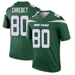 Legend Men's Wayne Chrebet New York Jets Nike Player Jersey - Gotham Green