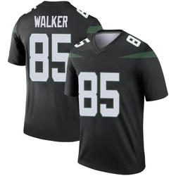 Legend Men's Wesley Walker New York Jets Nike Color Rush Jersey - Stealth Black
