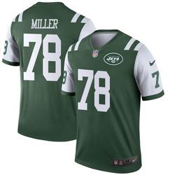 Legend Men's Wyatt Miller New York Jets Nike Jersey - Green
